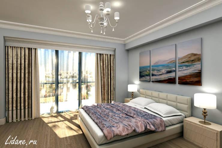 Летние апартаменты. Сочи: Спальни в . Автор – Lidiya Goncharuk