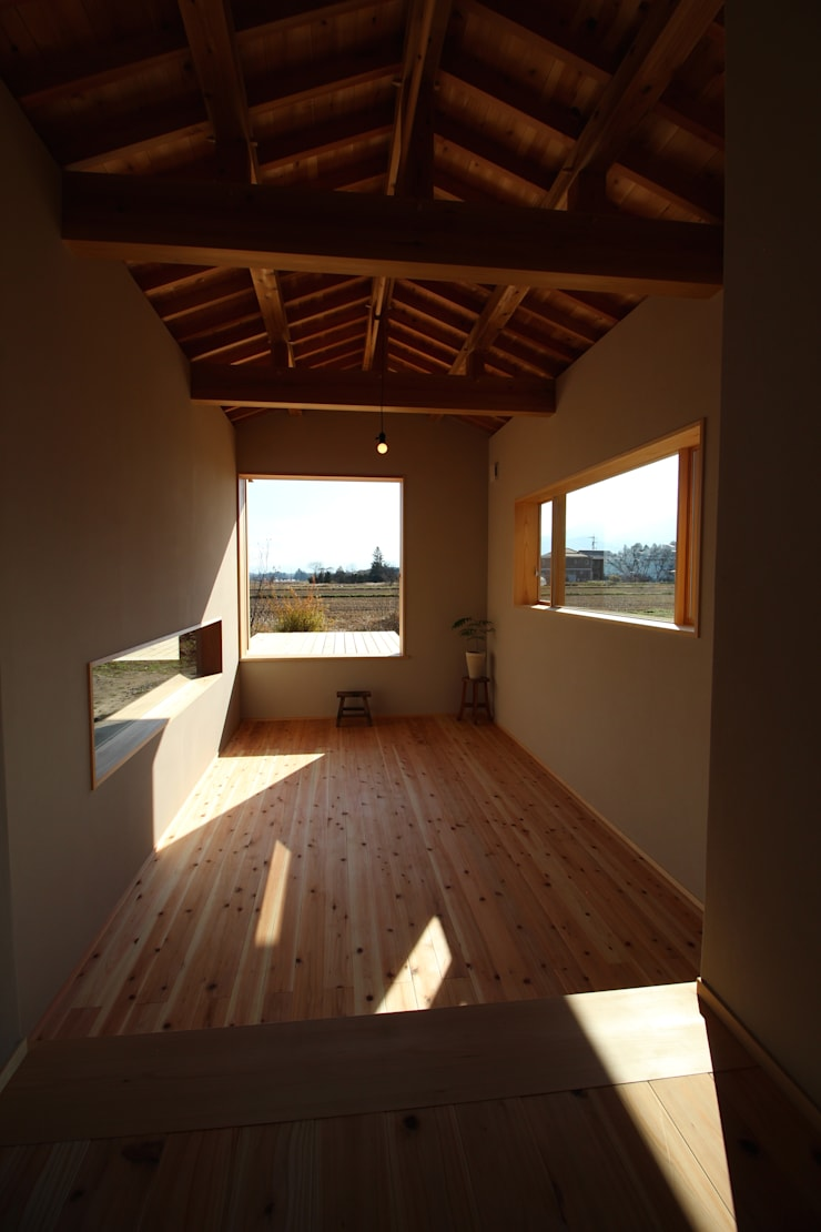 F家 離れ: 池内建築図案室が手掛けた和室です。