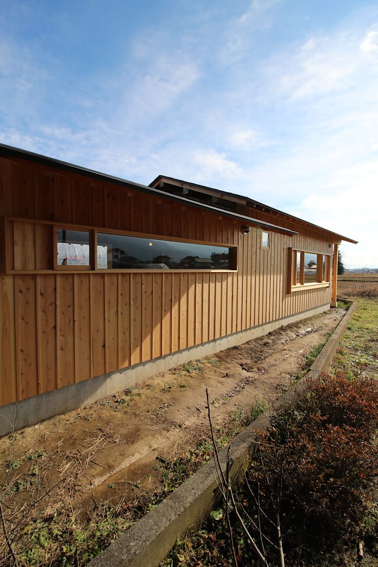 F家 離れ: 池内建築図案室が手掛けた家です。