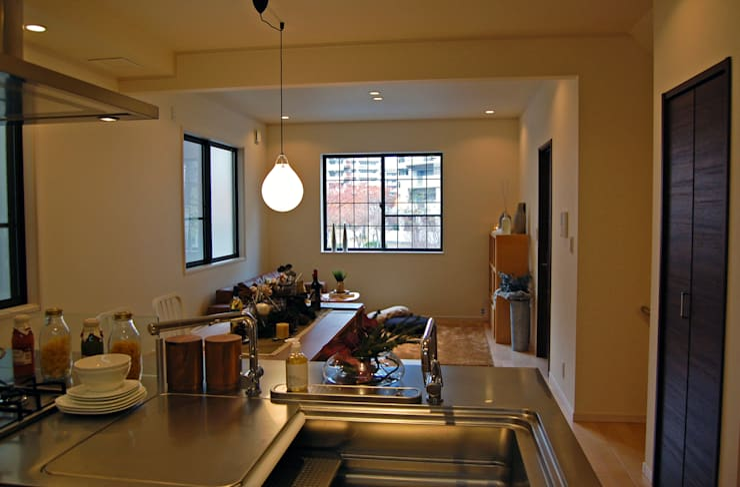 KDL: 有限会社スタイラス / THE HOUSE OF STYLUSが手掛けたキッチンです。