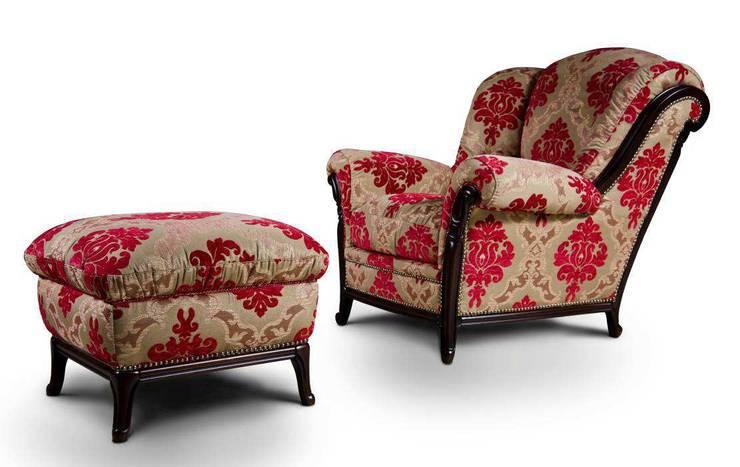 Palatino fotel marki Nieri: styl , w kategorii Salon zaprojektowany przez Italian Style