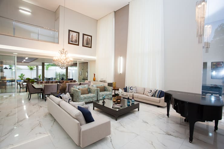 classic Living room by Projecta Arquitetura
