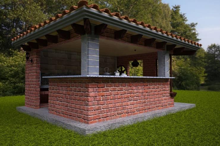 Jardines de estilo  por D&D Arquitectos