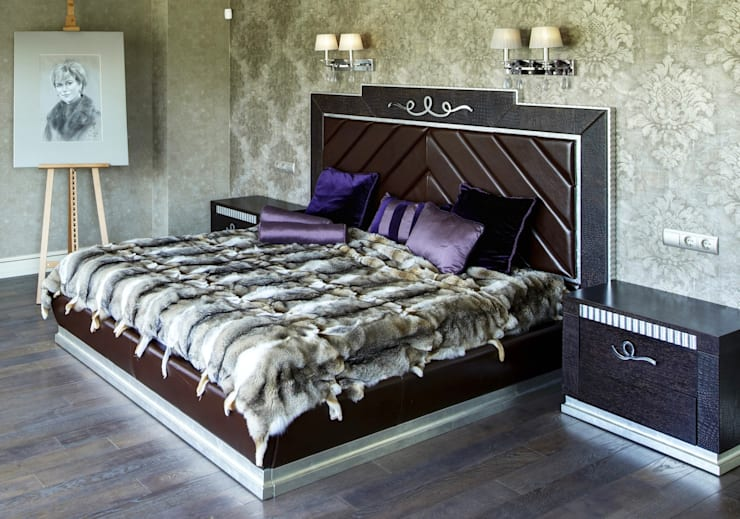спальня:  в . Автор – Kisliakova Elena Interiors