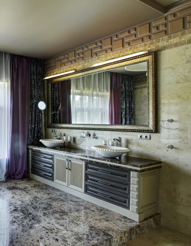 ванная комната:  в . Автор – Kisliakova Elena Interiors