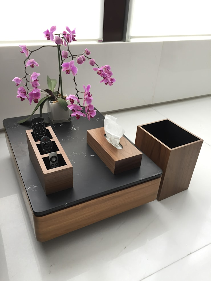 Wood: Salas de estilo  por wood