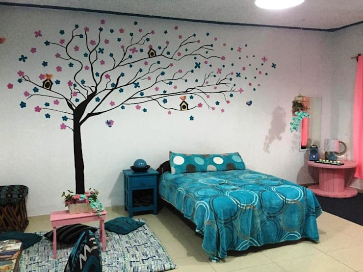 Diseños: Recámaras de estilo  por Decoracion Infantil  Decorar-t Kids