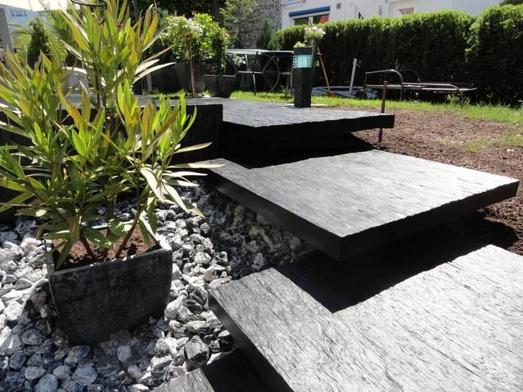 Referenzen- Naturstein:  Garten von MM NATURSTEIN GMBH