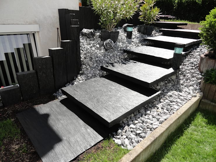Jardins modernos por MM NATURSTEIN GMBH
