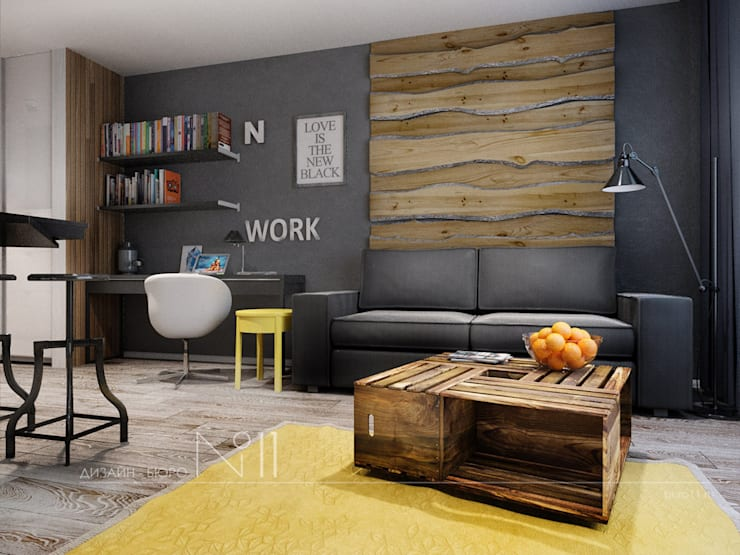 Livings de estilo  por Дизайн-бюро № 11