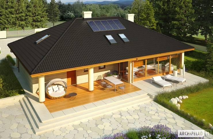 Projekt domu Alan IV G2 : styl , w kategorii Domy zaprojektowany przez Pracownia Projektowa ARCHIPELAG