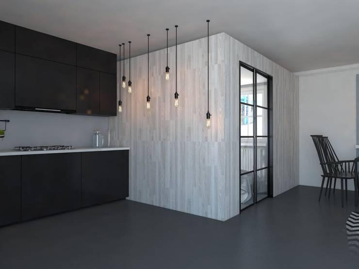 Mieszkanie Mysłowice: styl , w kategorii Kuchnia zaprojektowany przez FOORMA Pracownia Architektury Wnętrz,Klasyczny