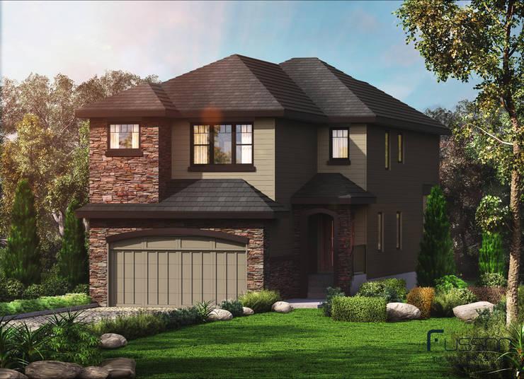 Windridge:  Houses by FUSSON STUDIO