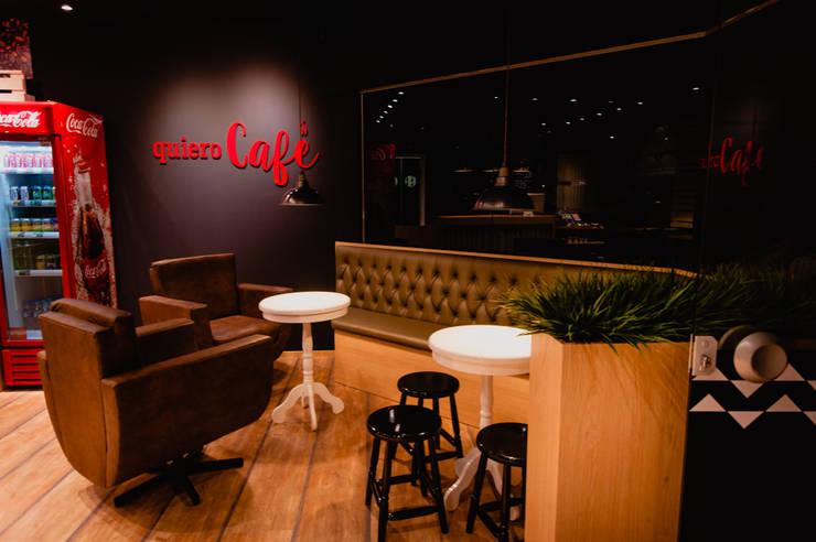 QUIERO CAFE: Espaços comerciais  por ND HAUS