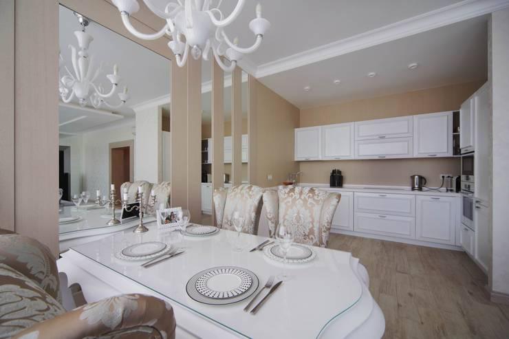 Современный интерьер: Столовые комнаты в . Автор – Мастерская дизайна