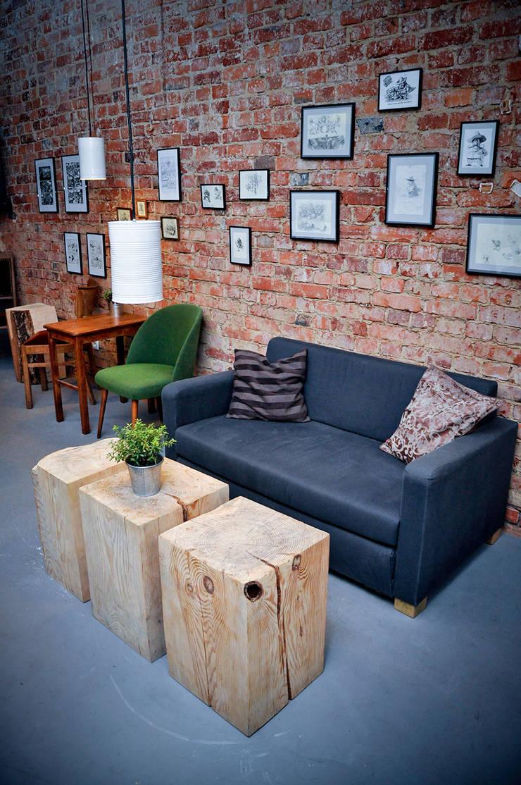 Nowa Café: styl , w kategorii Gastronomia zaprojektowany przez NowaConcept,Industrialny