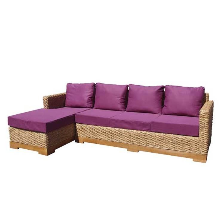 Canapé d'angle écologique: Salon de style  par Ônature