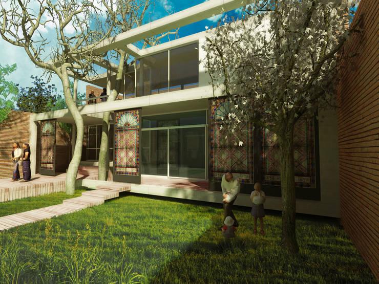 Casas de estilo  por Rr+a  bureau de arquitectos