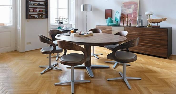Salle à manger de style de style Moderne par Design Lounge Hinke Wien