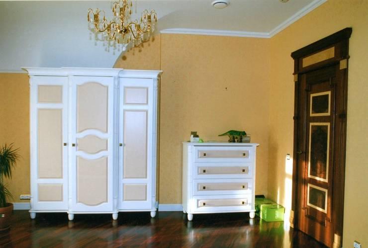 Шкафы изготовленные в мастерской: Спальная комната  в . Автор – Мебельная мастерская Александра Воробьева