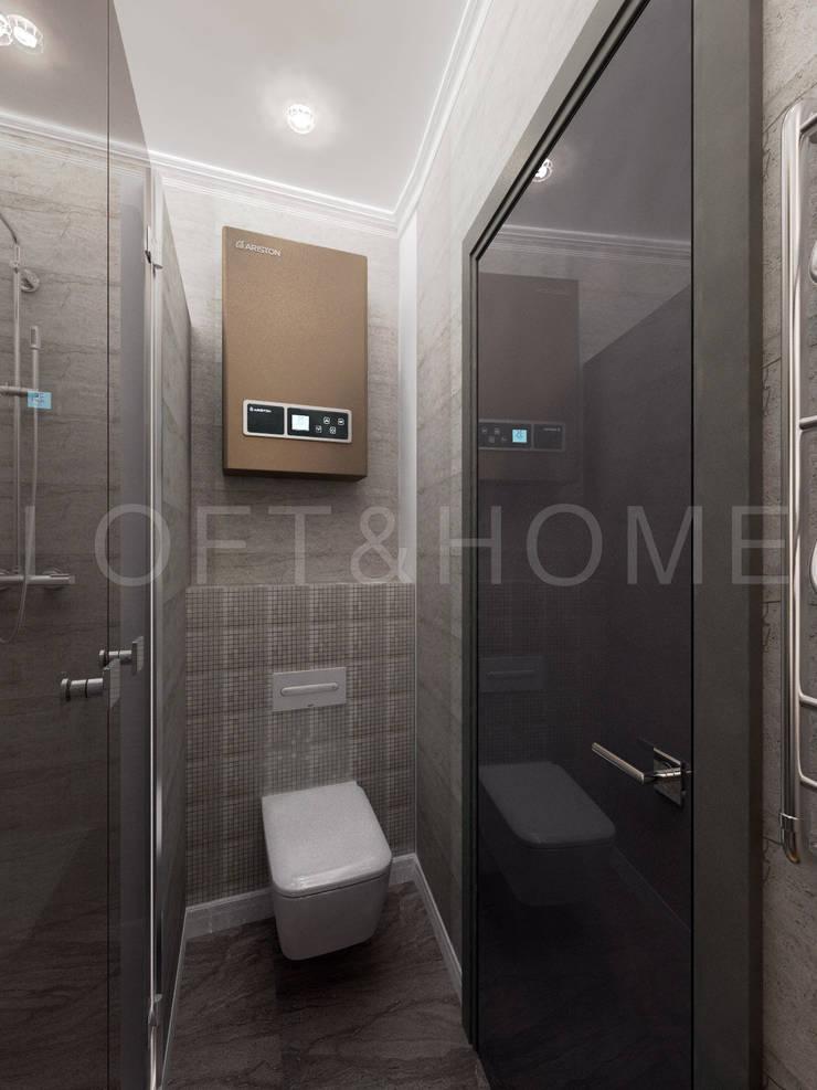 Квартира, Высоковольтный: Ванные комнаты в . Автор – Loft&Home