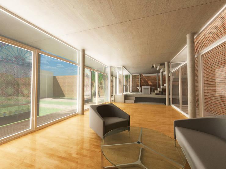 Casa PA42: Casas de estilo  por Rr+a  bureau de arquitectos