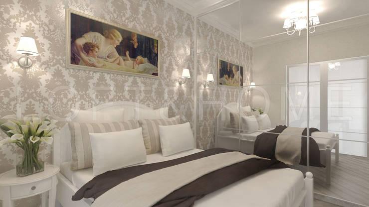 Квартира, ЖК Новорижский: Спальни в . Автор – Loft&Home