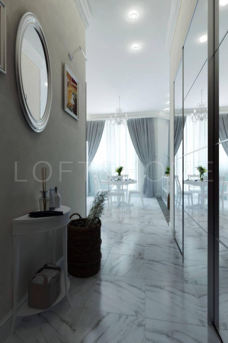 Квартира, ЖК Новорижский: Коридор и прихожая в . Автор – Loft&Home