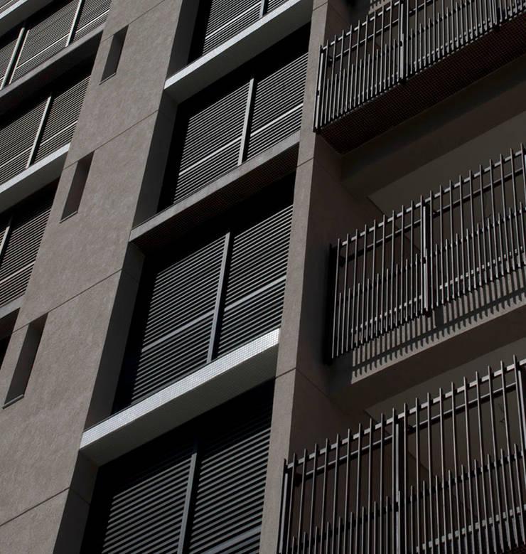 Edifício | Vila Madalena – 1: Terraços  por ARQdonini Arquitetos Associados
