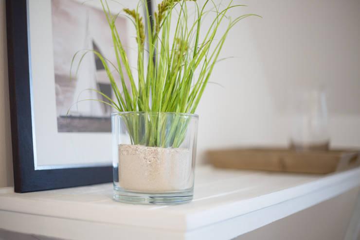 Homestaging Musterwohnung auf Sylt:  Schlafzimmer von Immofoto-Sylt