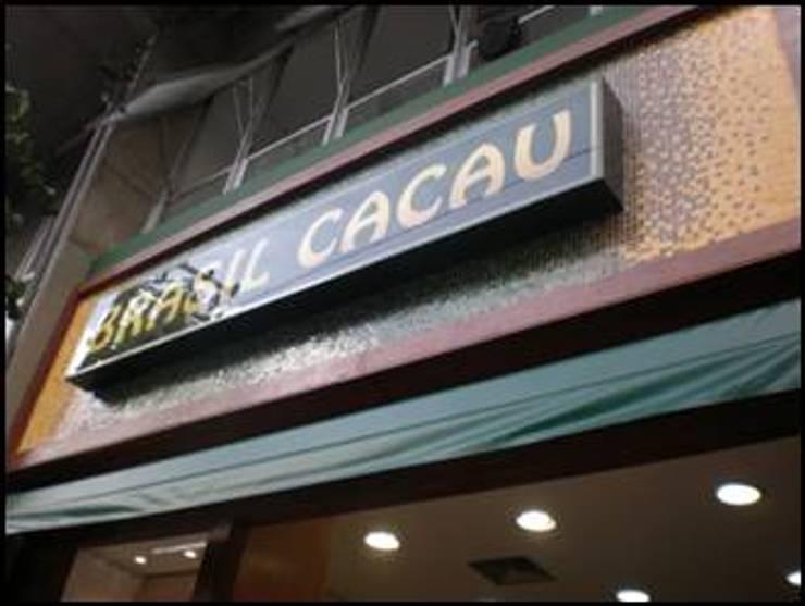 LOJAS CHOCOLATES BRASIL CACAU – LAYOUT 1:   por ACP ARQUITETURA