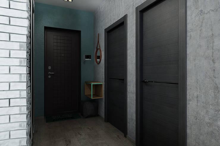 Квартира-студия для молодой пары: Коридор и прихожая в . Автор – Solo Design Studio