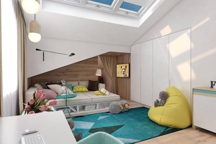 Современная детская: Детские комнаты в . Автор – Solo Design Studio