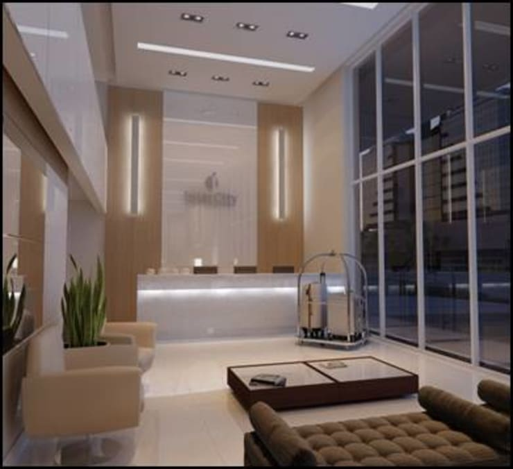 HOTEL INTERCITY - DUO CONCEPT PORTO ALEGRE:   por ACP ARQUITETURA,