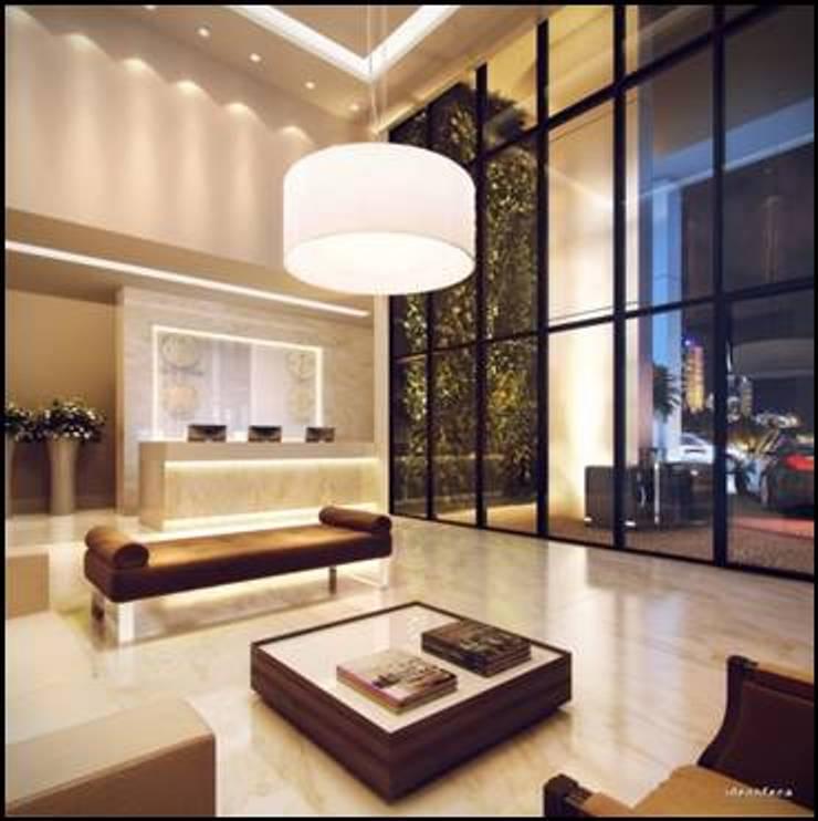 HOTEL INTERCITY - GM URBAN CURITIBA:   por ACP ARQUITETURA,