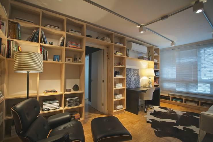 Living room by Super StudioB, Modern Wood Wood effect