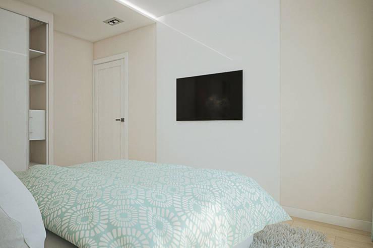 Квартира по ул. Щорса: Спальни в . Автор – Студия интерьера МЕСТО