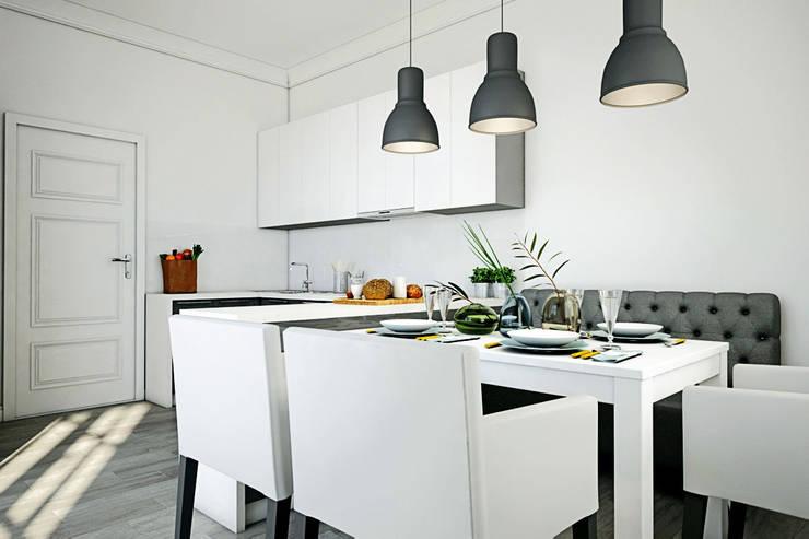 Дом в Коробчицах: Кухни в . Автор – Студия интерьера МЕСТО,