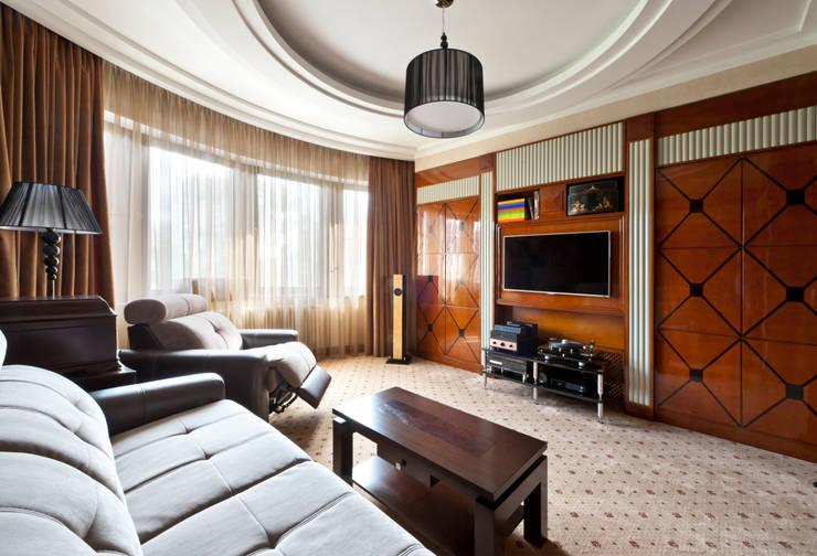 Квартира в стиле Ар-деко:  в . Автор – Архитектурное бюро DR House
