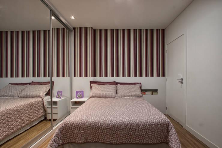 Apartamento Frankfurt: Quartos  por Cembrani móveis