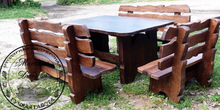 """Комплект мебели для сада """"Богатырь"""": Сад  в . Автор – Столярная мастерская Михаила Дибцева,"""