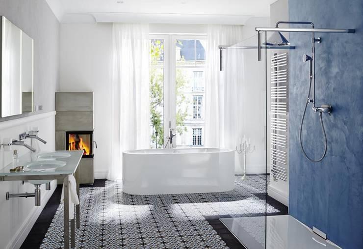 Behang In Badkamer : Ja het is mogelijk: behang in de badkamer
