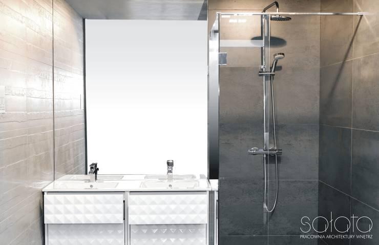 Modern bathroom by Sałata-Pracownia Architektury Wnętrz Modern