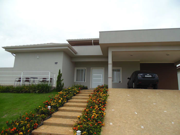 Residência LB: Casas  por Fernanda Oliveira - Arquitetura e Design,Eclético