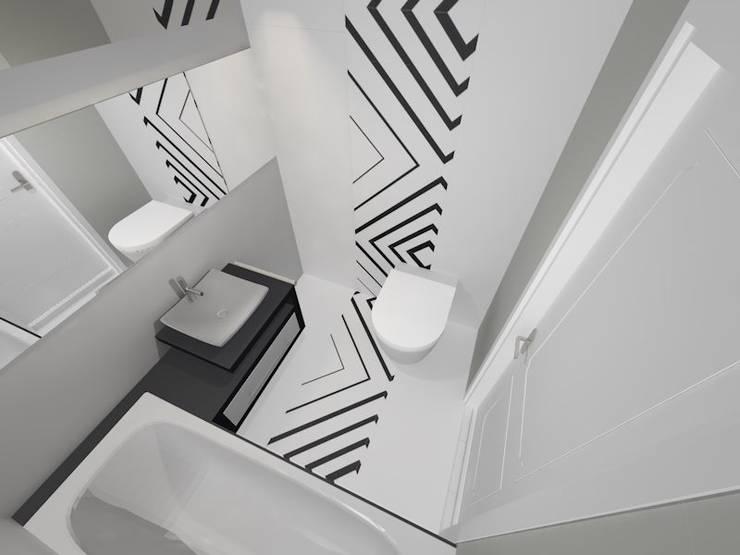 OPP! bathroom: styl , w kategorii  zaprojektowany przez Emi Studio Projektowe