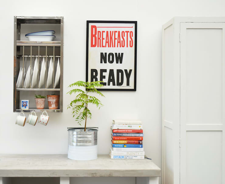 Cocinas de estilo industrial por The Plate Rack