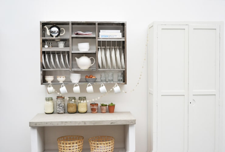 The Mighty Plate Rack: industrial Kitchen by The Plate Rack