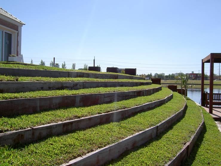 grandes vistas: Jardines de estilo  por BAIRES GREEN