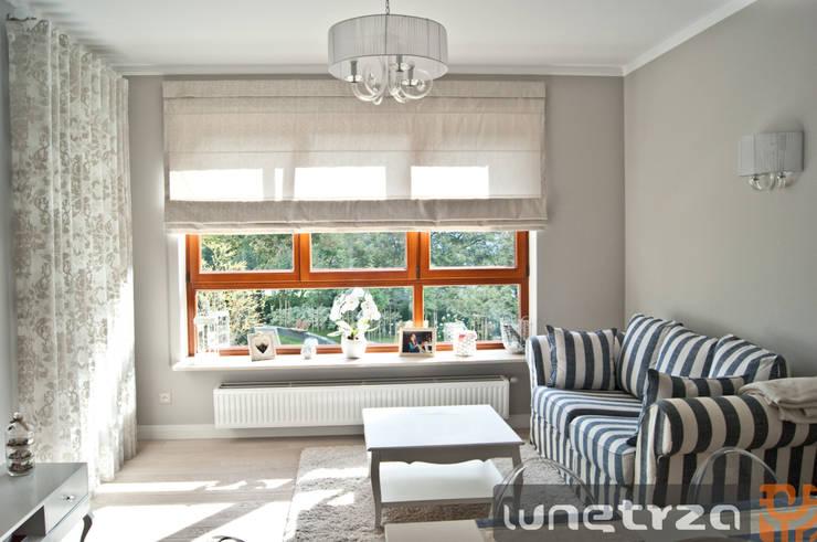 Salon: styl , w kategorii Salon zaprojektowany przez Wnętrza Alicja Galewska