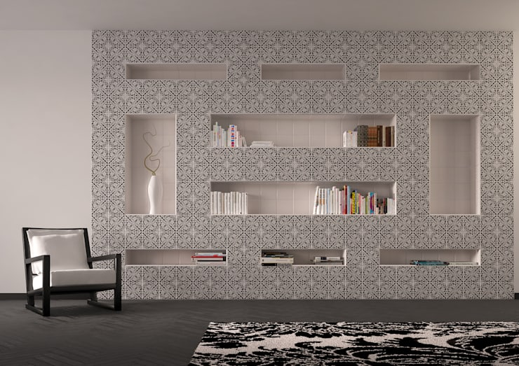 ALICUDI: Studio in stile  di CERAMICHE MUSA
